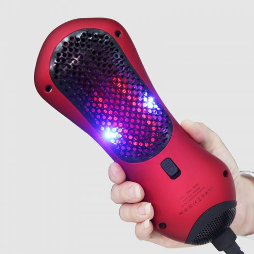 Infrared Pet Hair Dryer and Treatment Brush